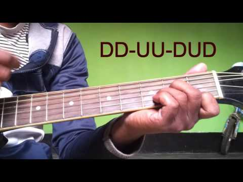 Pashmina dhaagon ke sang | Amit Trivedi | Fitoor | Guitar Cover withChords Lesson Tutorial