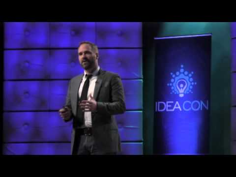 Mark McGarrity from Pilgrim Consulting speaking at IDEAcon 2016