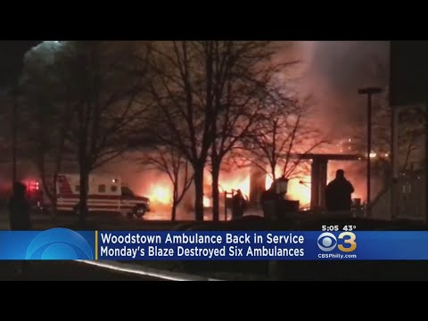 Fire-Ravaged Ambulance Company Back In Service
