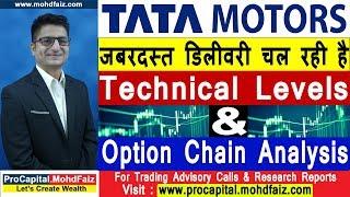 TATA MOTORS SHARE LATEST NEWS | जबरदस्त डिलीवरी चल रही है | Tata Motors Share Price Today