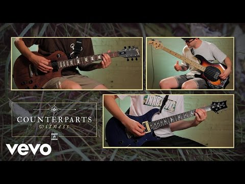 "counterparts - ""witness"" guitar demonstration"