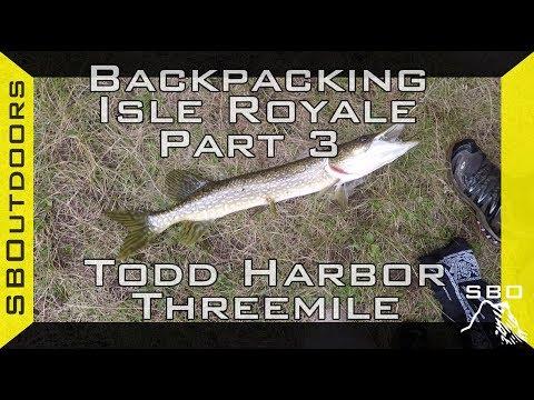 Backpacking Isle Royale Pt. 3: Todd Harbor to Threemile