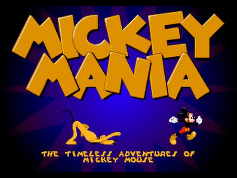 Mega Drive Longplay [400] Mickey Mania: The Timeless Adventures of MickeyMouse