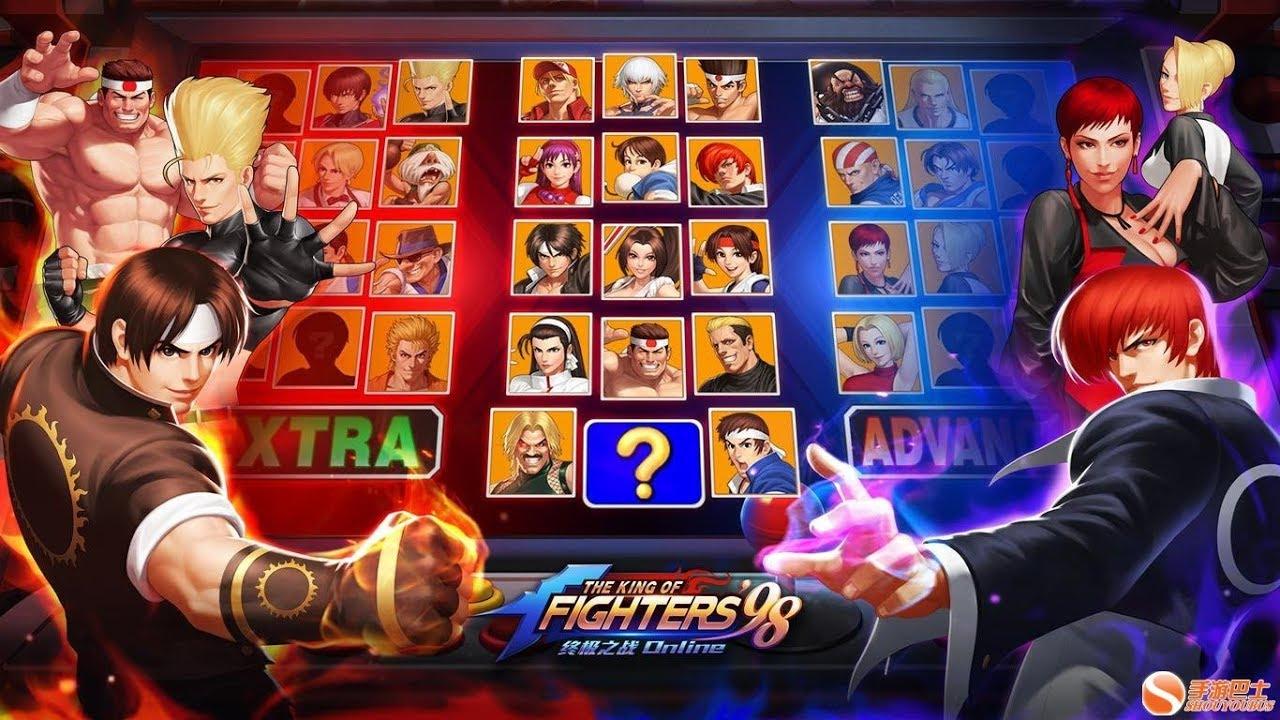 kof 98 ol - All character SMAX (เอสแม๊กตัวละครทุกตัว!!) - YouTube