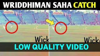 VIDEO:Wriddhiman Saha Catch Vs South africa | Wriddhiman Saha Catch Video Vs south africa |