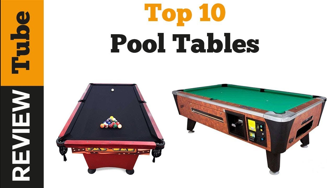 Snooker: Best pool table and billiard table 2018 (Buying Guide)