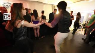 Terry SalsAlianza & Amely - social dance 2 @ Salsa Night ' Péniche Touta '