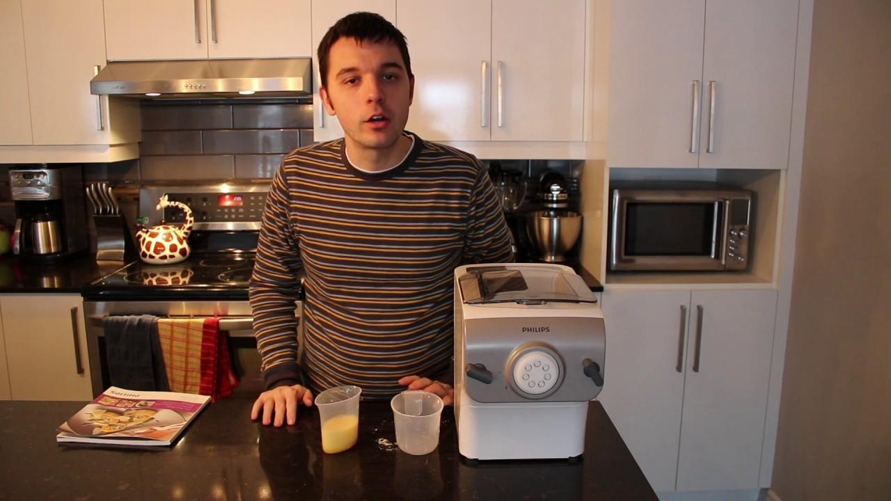 La machine à pâtes Avance de Philips Blogger Review - YouTube