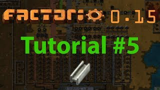 Factorio Tutorial #3 - Main Bus, Green Circuits - Education Video