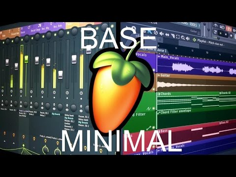 FL Studio Tutorial: Base Minimal Techno (Menos es mas!) [FREE FLP]