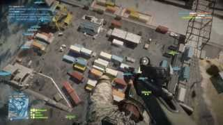 Battlefield 3 BF3 Parachute no scope