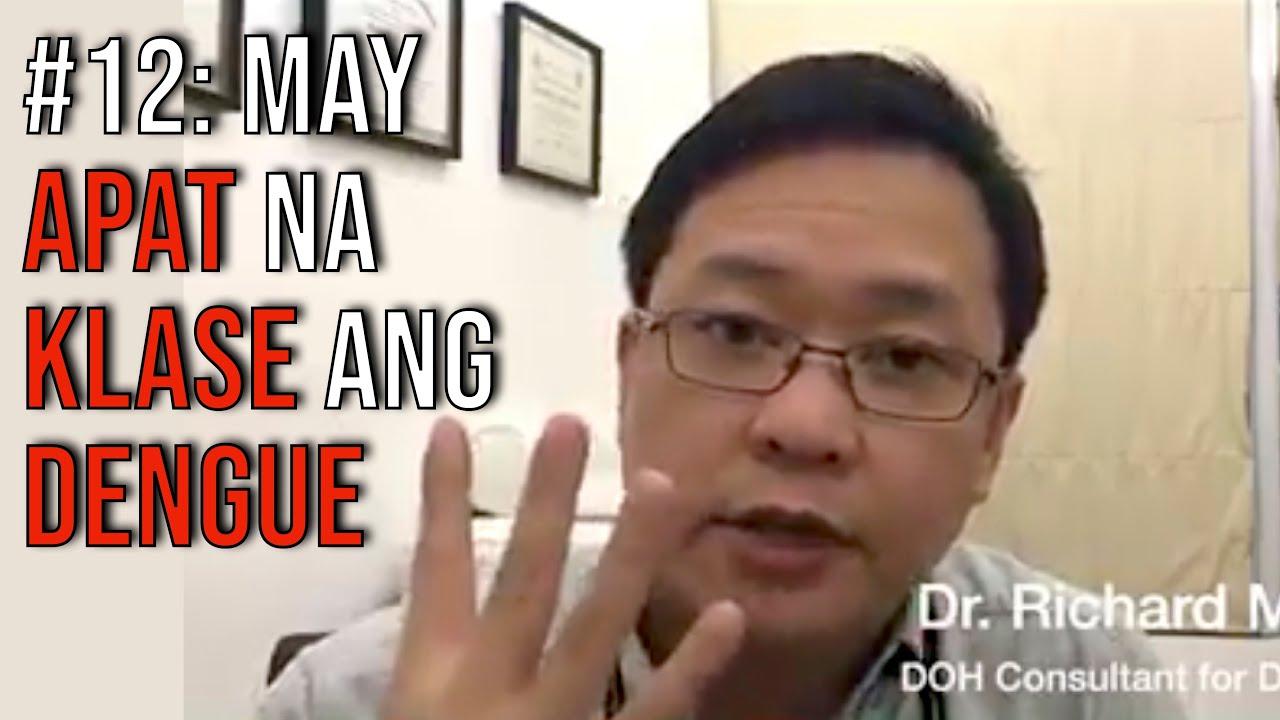 Dengue Fever Tip #12: May Apat na Klase ang Dengue
