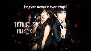 Trouble Maker (Hyuna & Hyunseung) - Trouble Maker Lyrics (Eng Sub) mp3