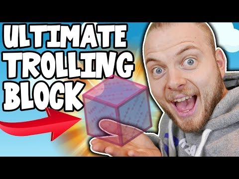 THE ULTIMATE TROLLING BLOCK IN BEDWARS!!