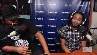 Skeme Kicks a Freestyle Off The Top Live on Sway in the Morning