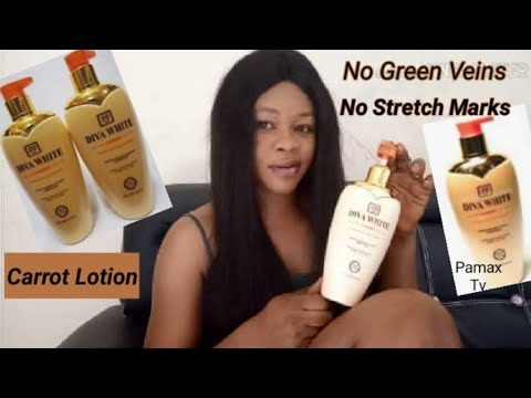 Diva White Carrot Lotion Review Best Lotion For Glowing Skin Fade Dark Spots Youtube