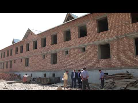РОВД Кадамжай району  заманбап имарат  курулуп жатат