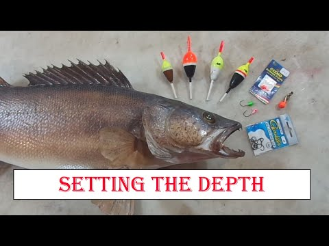 Slip Bobbers - Tricks For Setting The Depth