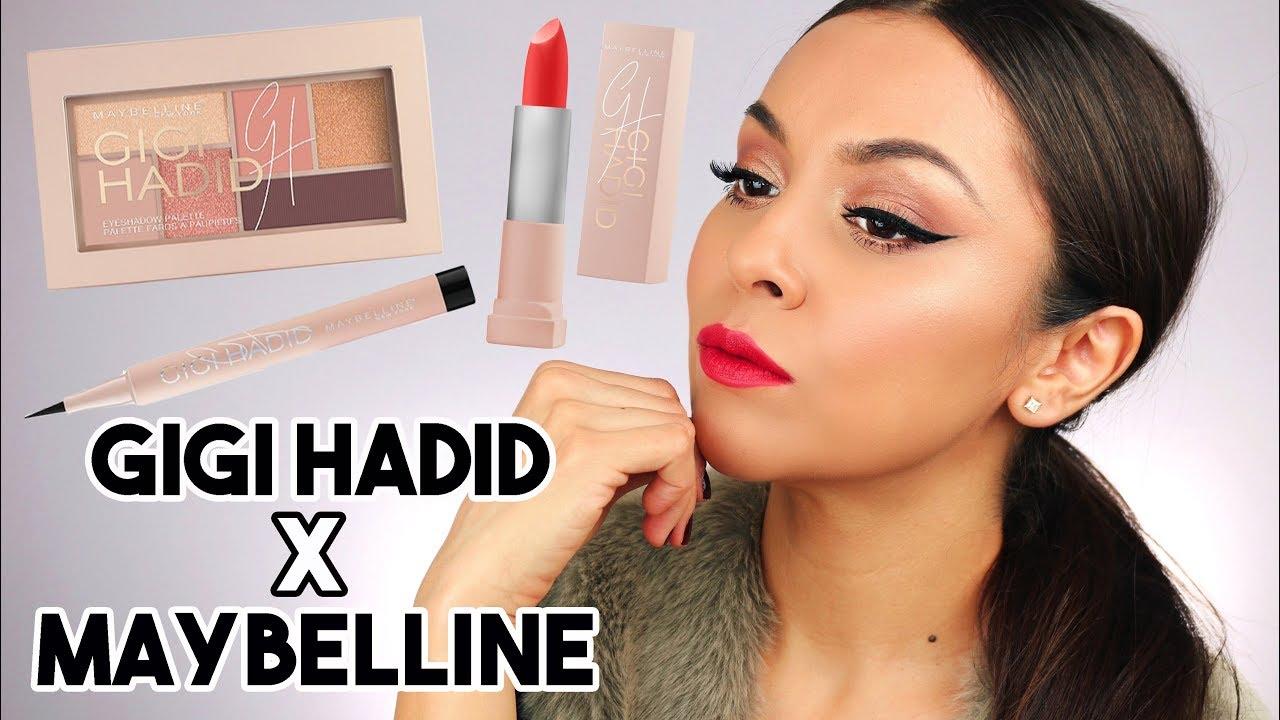 c63b42d0ec2 MAYBELLINE x GIGI HADID Makeup Collection First Impression - TrinaDuhra