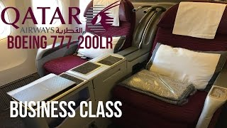 qatar airways business class boeing 777 200lr doha to los angeles review