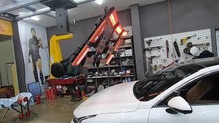 기아자동차 신형 K5 DL3 차량의 깨진 전면유리교체,…