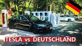 Tesla Trickst Deutschland Aus Und Baut Größten Supercharger!