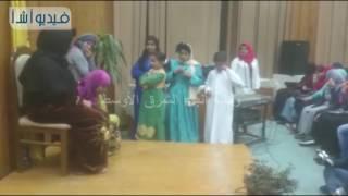 بالفيديو : عرض مسرحي لمشاكل المرأة المصرية بالريف بختام الأسبوع الألماني بجامعة المنيا