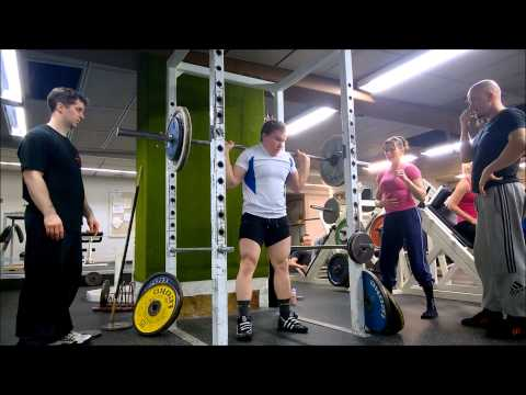 Today's training - Legs day - Drop-down sets and Supersets with NSW 22.2.2015