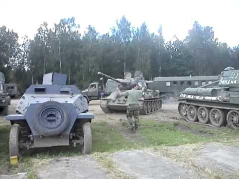 T34/85 Parkování