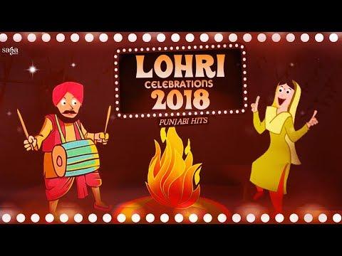Non Stop Lohri Songs | ਲੋਹੜੀ 2018 | New Punjabi Songs 2018 | Saga Music