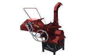 """8"""" Hydraulic Wood Chipper - Professional Diy"""