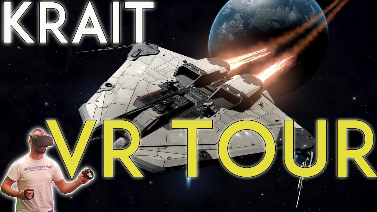 KRAIT - VR Cockpit Tour - Elite Dangerous