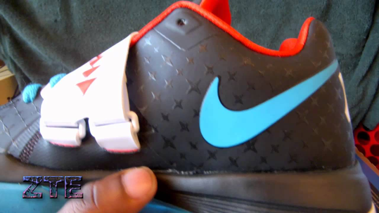 62033d0be34f70 Nike Zoom KD 4 N7 AWAY - YouTube