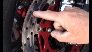 Ask Dave: Brake rotor stains