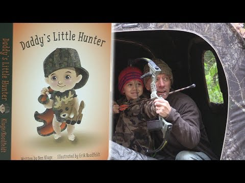 Daddy's Little Hunter - Deer Hunting- Read Along Book- For Kids