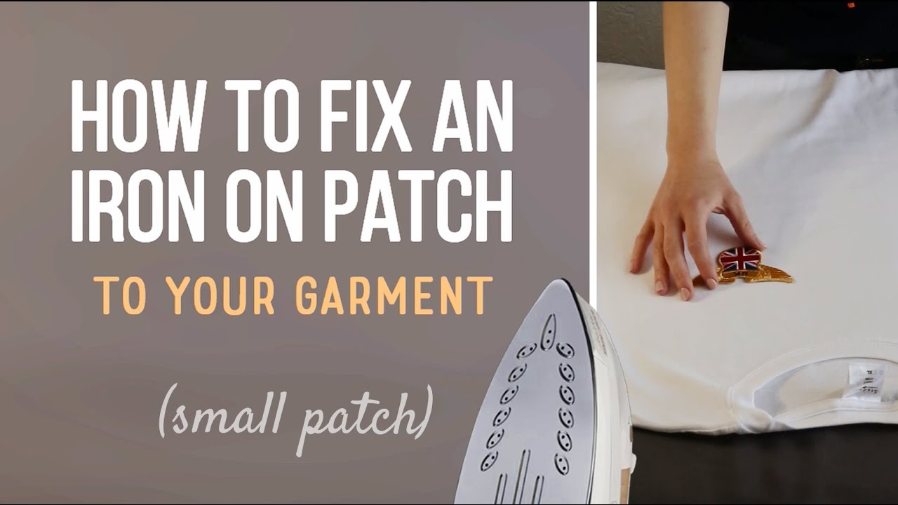 Types of backing for embroidered patches - Embrosoft