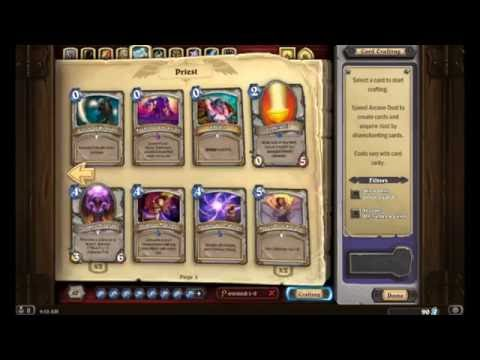 Let's Start a New Account! Beginner's Guide to Crafting & Deckbuilding [Hearthstone]