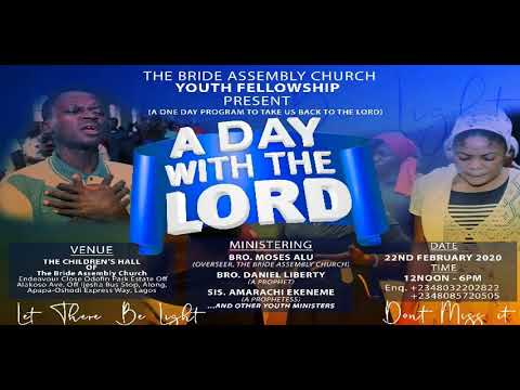 LIVE SERVICE: WORSHIP SERVICE OF SUNDAY 16TH FEBRUARY, 2020 THE BRIDE ASSEMBLY LAGOS. STAY BLESSED.