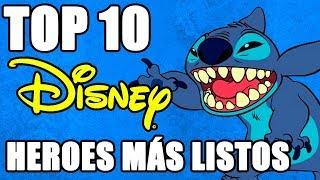 Top 10 Heroes más listos de Disney