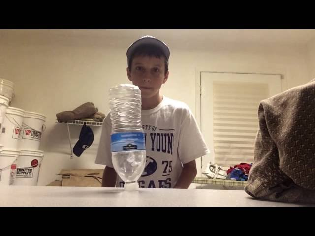EPIC TRICK SHOTS- Water Bottle Flip Edition