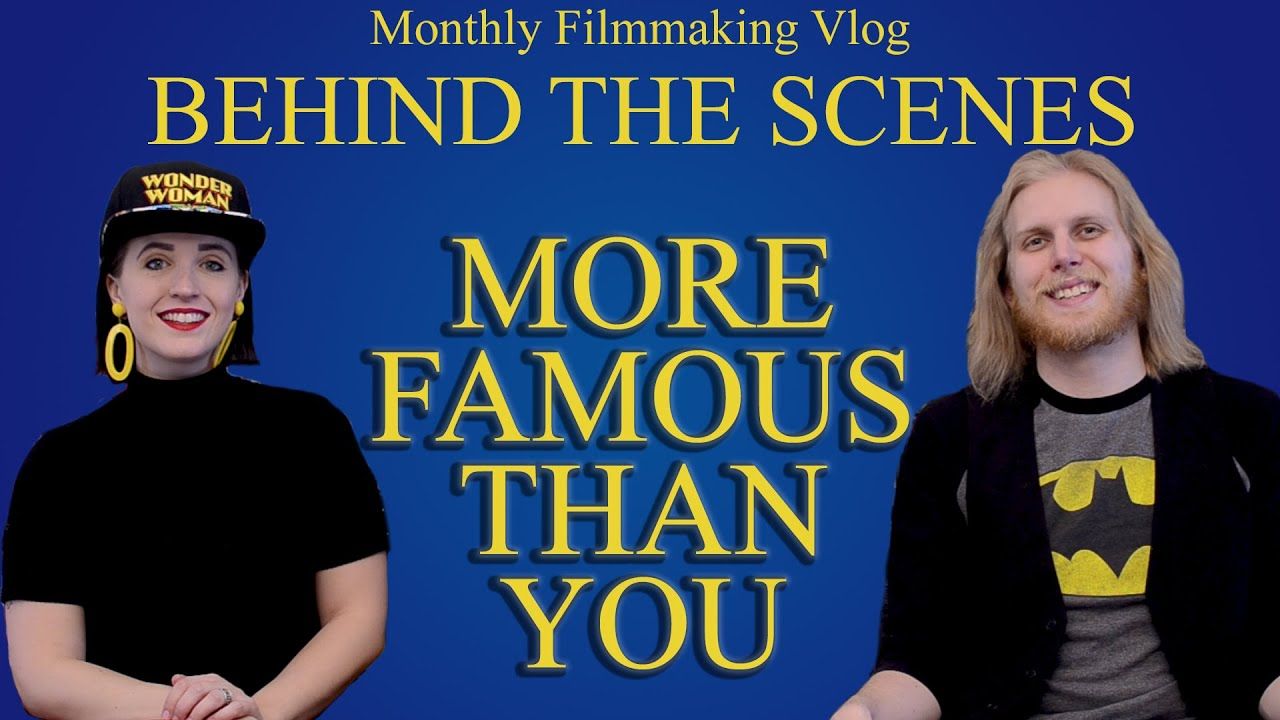 Behind the Scenes Vlog | More Famous Than You