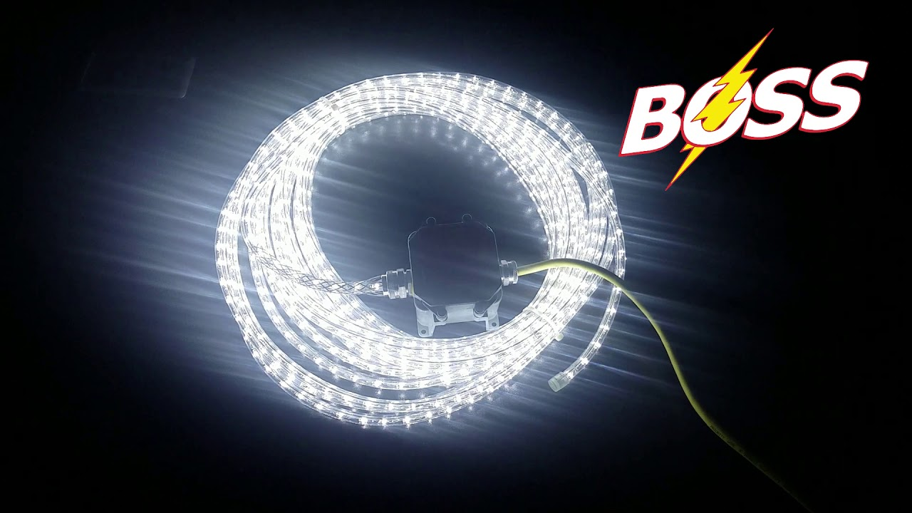 Led Rope Lights Boss 12v And 120v