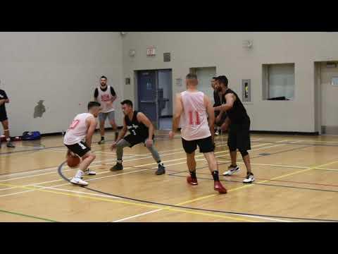 2019 Burnaby Fall League - Reds Vs Dimebags - Roundball BC Mens Basketball League