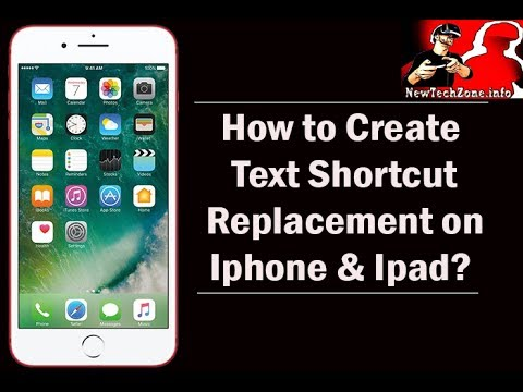 How to Use Text Replacement on iphone? | Keyboard Tricks on IOS 11
