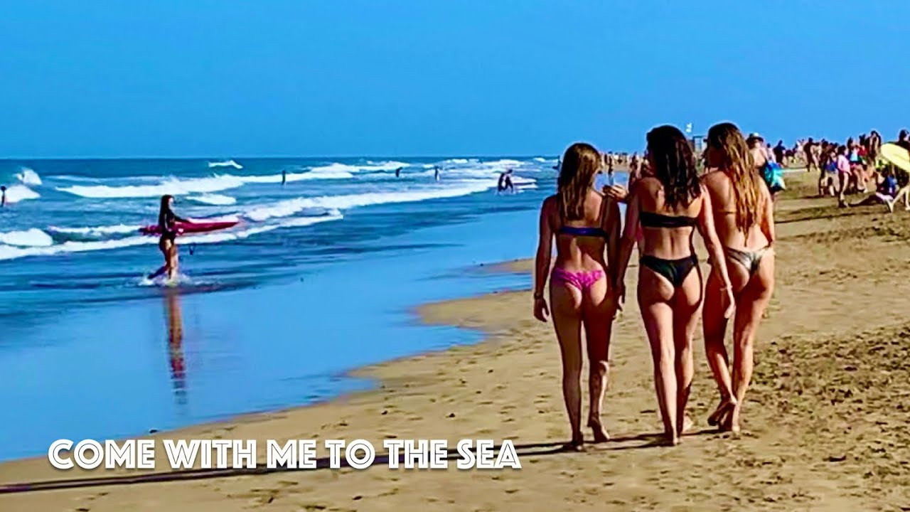 Gran Canaria Beach Walk from Maspalomas to Playa del Ingles 8km 🌞