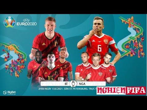 [TRỰC TIẾP BÓNG ĐÁ] Bỉ vs Nga (2h00 ngày 13/6). VTV6 VTV3 trực tiếp bóng đá EURO 2020 - Bảng B - FO4