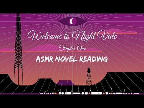 ⨂ Welcome to Night Vale ⨂ (ASMR novel reading) (Part 1) (and a bit of a ramble and some tapping)