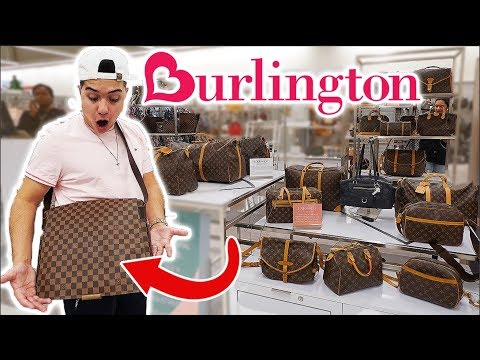LOUIS VUITTON FOUND AT BURLINGTON!!! (NOT CLICKBAIT)