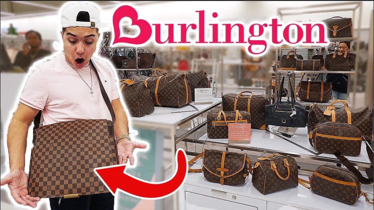 072a0cd29 LOUIS VUITTON FOUND AT BURLINGTON!!! (NOT CLICKBAIT) - YouTube