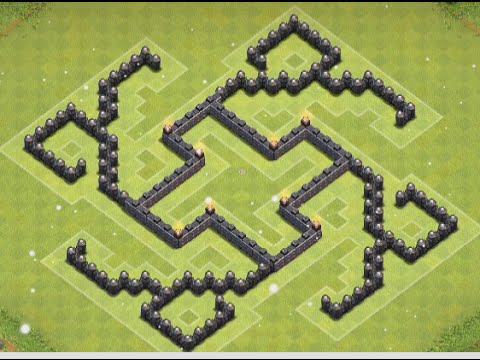 Clash Of Clans* BEST Town Hall 7 Farming Base! (Trick Base) - YouTube